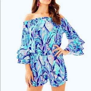 Lilly Pulitzer Scale Up Romper